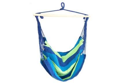 Μονή Αιώρα με ρίγες και μέγιστο βάρος αναβάτη 120kg σε μπλε χρώμα - Aria Trade