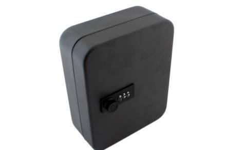 Μεταλλική Κλειδοθήκη 20 θέσεων με κωδικό ασφαλείας σε μαύρο χρώμα