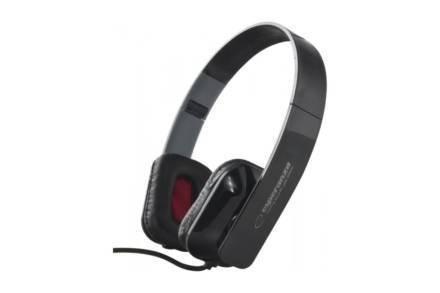 Ενσύρματα Ακουστικά Κεφαλής 3.5mm 105dB σε μαύρο χρώμα