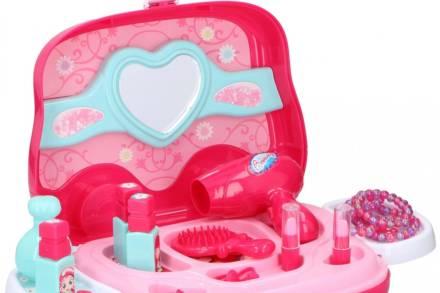 Eddy Toys Παιχνίδι σετ καλλυντικών ομορφιάς σε βαλιτσάκι 19 τεμαχίων