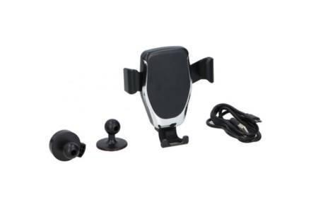 All Ride Universal Βάση στήριξης 360 μοιρών για Κινητό με βεντούζα για Αυτοκίνητο και Usb καλώδιο - All ride