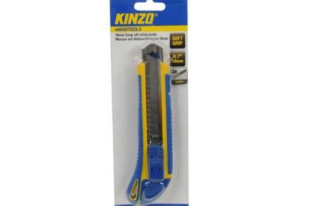 Kinzo Κοπίδι με Soft Grip λαβή και Τριπλή Λεπίδα 18 mm - Kinzo