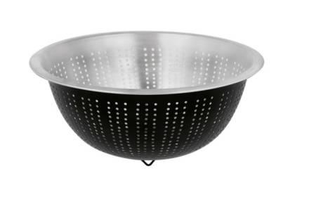 Μεταλλικό Σουρωτήρι με μαύρο ματ τελείωμα και διάμετρο 27.5 cm