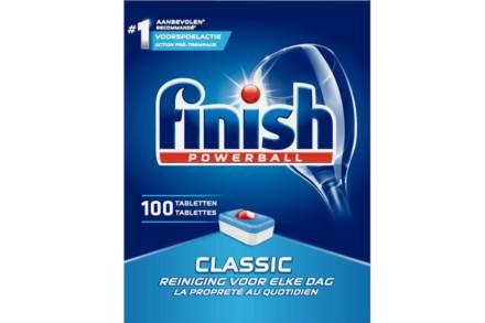 Finish Powerball Classic Ταμπλέτες Πλυντηρίου Πιάτων 100 τεμάχια - Calgonit
