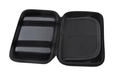 Φορητή Εξωτερική Θήκη για Σκληρό Δίσκο 2.5'' σε μαύρο χρώμα