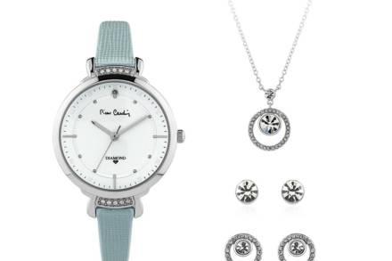 Pierre Cardin Σετ Κοσμημάτων με Γυναικείο Ρολόι Χειρός