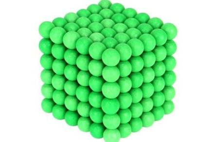 Μαγνητικές Μπάλες Μικρά Σφαιρίδια 5mm 216 τεμαχίων σε πράσινο χρώμα που φωσφορίζει - Aria Trade