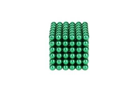 Μαγνητικές Μπάλες Μικρά Σφαιρίδια 5mm 216 τεμαχίων σε πράσινο χρώμα - Aria Trade