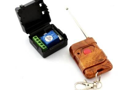 Ασύρματο Τηλεχειριστήριο Μπρελόκ για ηλεκτρικές συσκευές 433MHz εύρους 70 μέτρων - Aria Trade