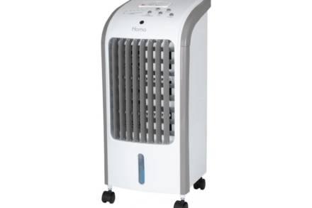 Homa Φορητό Air Cooler Κλιματιστικό Δαπέδου Υγραντήρας 75W 4Ltr με 3 ταχύτητες και τηλεχειριστήριο