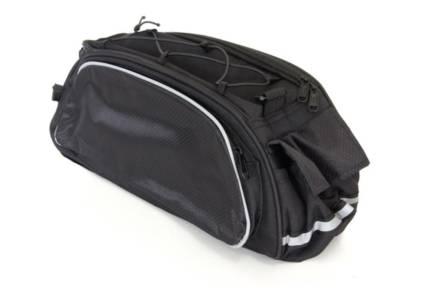 Αθλητική Τσάντα Ποδηλάτου για Σχάρα και λουράκι για τον Ώμου σε μαύρο χρώμα