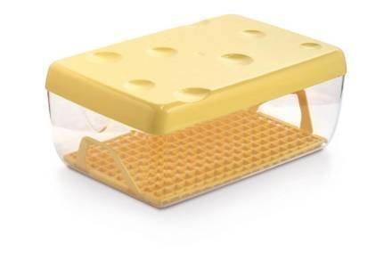 Δοχείο Φαγητού με καπάκι και δισκάκι ιδανικό για τυρί