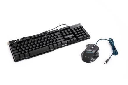 Soundlogic Σετ Gaming Πληκτρολόγιο και ποντίκι με LED Φωτισμό