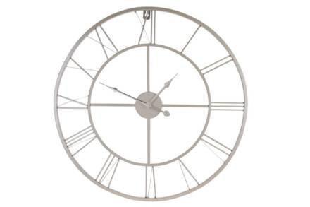 Αναλογικό Μεταλλικό Ρολόι Τοίχου