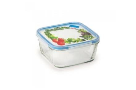 Γυάλινο Μπολ Αποθήκευσης με καπάκι 1.4L κατάλληλο για φούρνο μικροκυμάτων