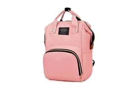 Τσάντα πλάτης Μαμάς  Backpack με εσωτερικές θήκες για μπιμπερό και extra θήκες αποθήκευσης για πάνες και βρεφικά αξεσουάρ - Aria Trade