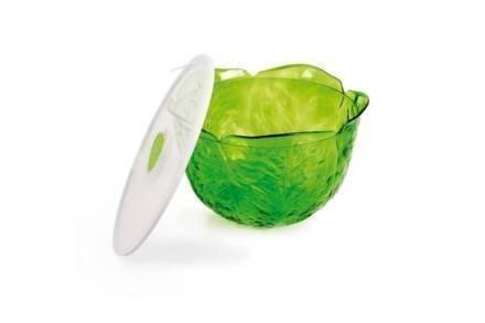 Σαλατιέρα Μπολ με καπάκι χωρητικότητας 4L σε Πράσινο χρώμα