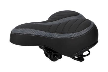Dunlop Σέλα Ποδηλάτου σε Μαύρο χρώμα