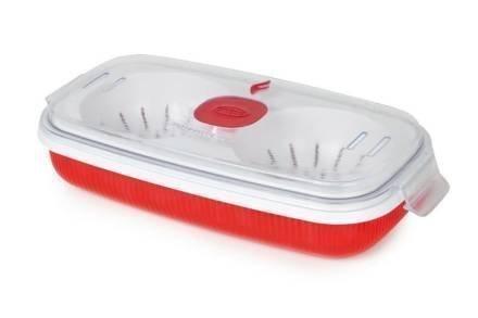 Σκεύος Παρασκευής Ομελέτας και Αυγών Ποσέ για φούρνο μικροκυμάτων