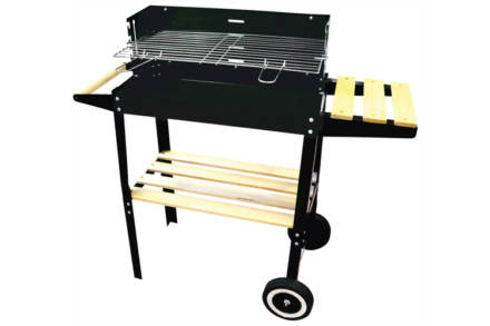 Kynast Exklusiv Φορητή Ψησταριά Μπάρμπεκιου Barbeque BBQ Deluxe Κάρβουνου 52 x 27 x 66 cm Grill Wagon - Kynast
