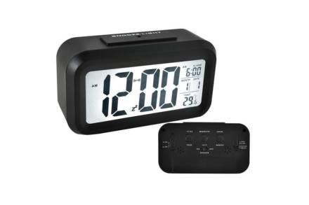 Ψηφιακό Επιτραπέζιο Ρολόι LED με ένδειξη Θερμοκρασία