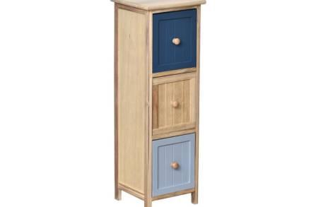 Ξύλινο Έπιπλο Συρταριέρα με 3 συρτάρια