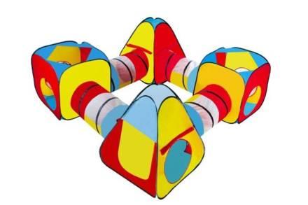 Παιδική Σκηνή Τούνελ 8 σε 1 σε πολύχρωμο σχέδιο