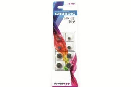 Αλκαλικές Μπαταρίες κουμπιά 1.5V Συσκευασία 8 τεμαχίων