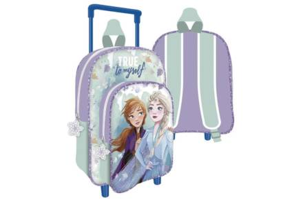 Disney Σχολική Τσάντα Σακίδιο Πλάτης Τρόλεϊ Backpack με θέμα Frozen 2