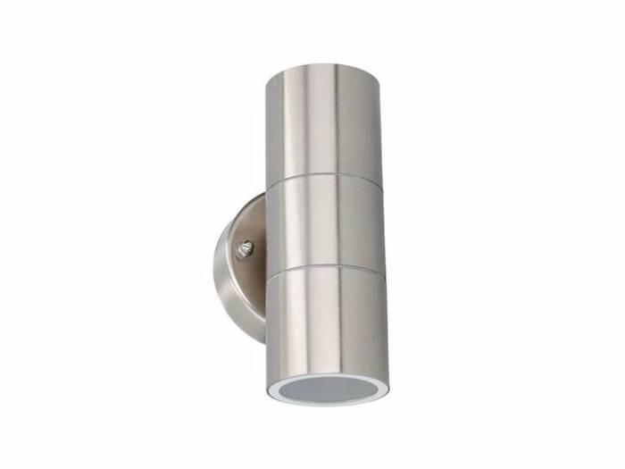Φωτιστικό Τοίχου LED Εξωτερικού χώρου 2x35W από ανοξείδωτο Ατσάλι