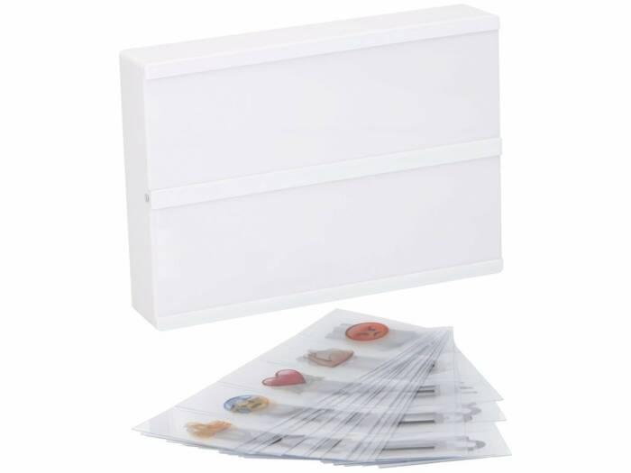 Πίνακας LED Φωτιζόμενος lightbox A5 με 100 Κάρτες με γράμματα και σύμβολα και 8 LED