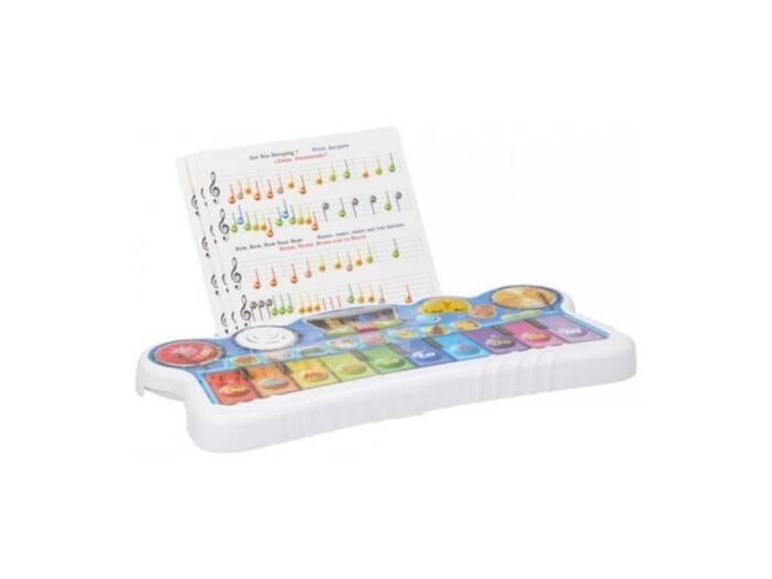 Let's Play Παιχνίδι Παιδικό Πιάνο με μουσικές νότες