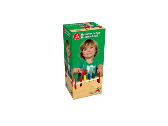 Τουβλάκια και Σφυρί - Marionette wooden toys