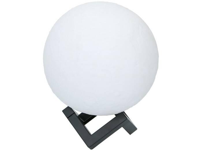 Grundig Διακοσμητικό Φωτιστικό Φεγγάρι 18 cm Moon Ball με εναλλαγή χρωμάτων - Grundig