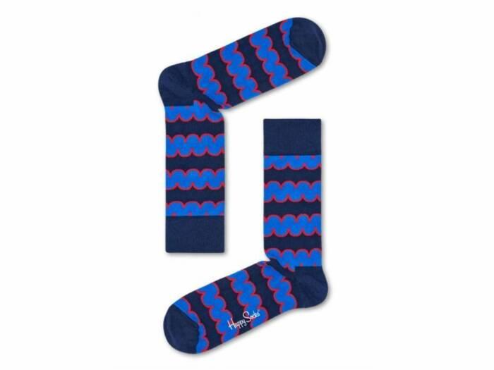Happy Socks Ανδρικές Κάλτσες Squiggly Sock