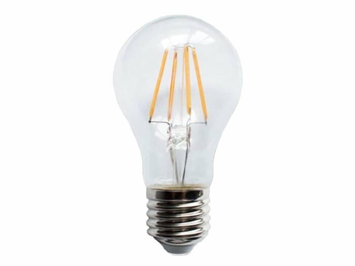 Λάμπα LED 4W Υποδοχής E27 460lm Ψυχρού Φωτισμού 220-240V