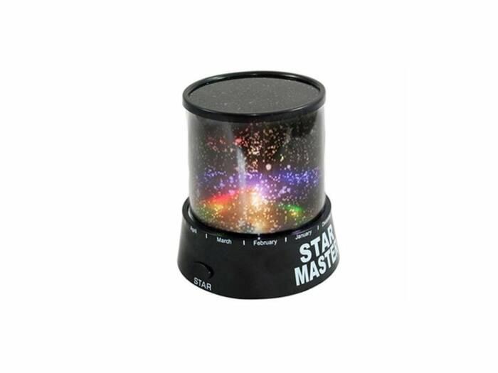 Led Προβολέας Φωτιστικό Νυχτός για απεικόνιση έναστρος Ουρανός για Ρομαντική Ατμόσφαιρα Star Master Light Projector