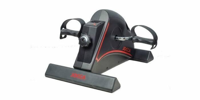 Jocca Στατικό Ποδήλατο Γυμναστικής - Black & Red Mini Exercise Bike σε Μαύρο Κόκκινο Χρώμα 6190 - JOCCA home & life