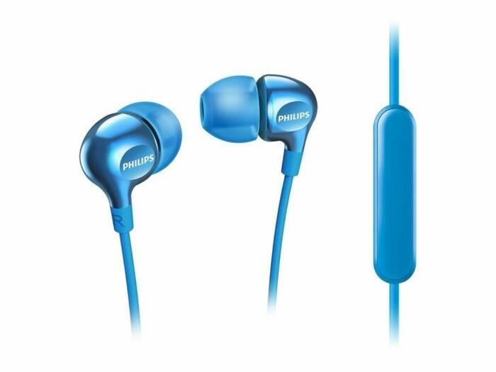 Philips Vibes Ακουστικά Handsfree Ψείρες In Ear με ενσωματωμένο μικρόφωνο σε γαλάζιο χρώμα