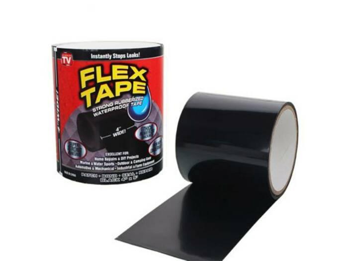 Αδιάβροχη Μονωτική Ταινία Flex Tape 1.5m - TV