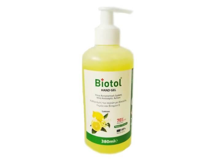 Αντισηπτικό απολυμαντικό χεριών Biotol Hand Gel 380ml