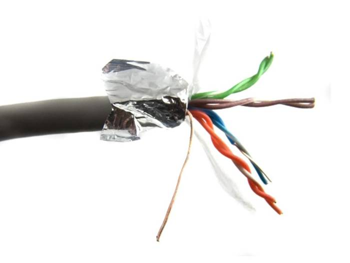 Καλώδιο Δικτύου CAT 5E F/UTP μήκους 305m - Aria Trade