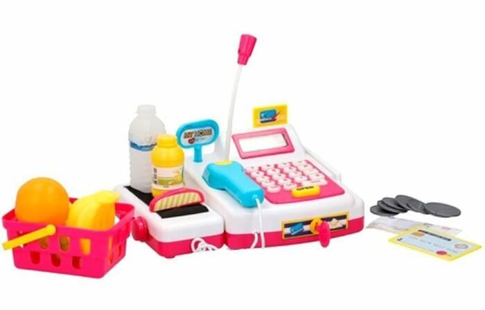 Eddy Toys Παιδική Ταμειακή Μηχανή με scanner