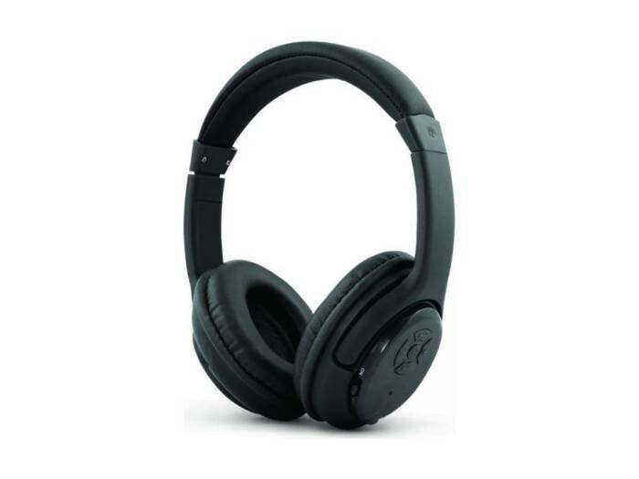 Ασύρματα Ακουστικά Κεφαλής Bluetooth σε μαύρο χρώμα
