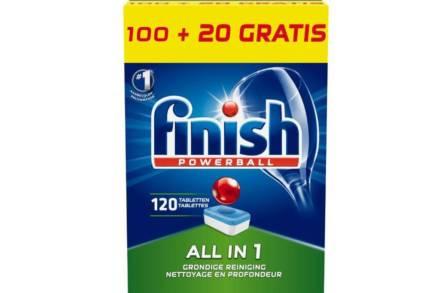 Finish Powerball All in one 120 Ταμπλέτες Πλυντηρίου Πιάτων Megapack - Calgonit