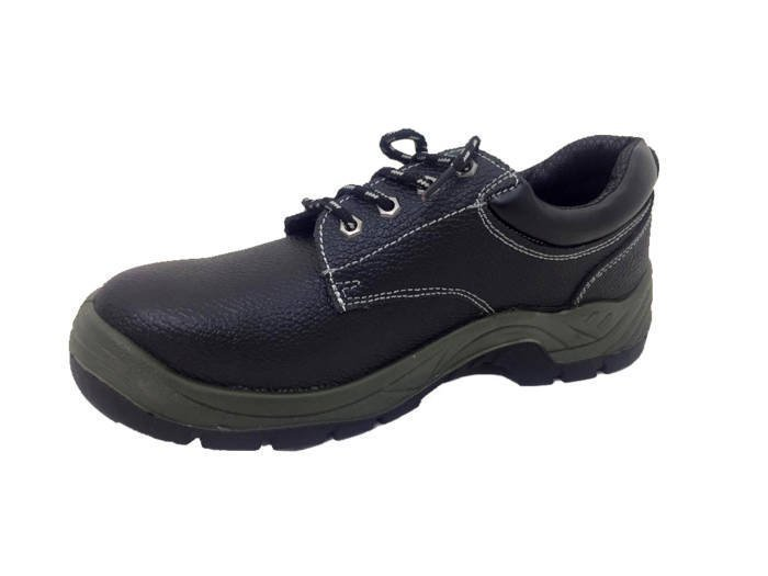 Glory Footwear Δερμάτινα Παπούτσια Εργασίας Ασφαλείας Unisex Χαμηλά σε Μαύρο χρώμα - Glory Footwear