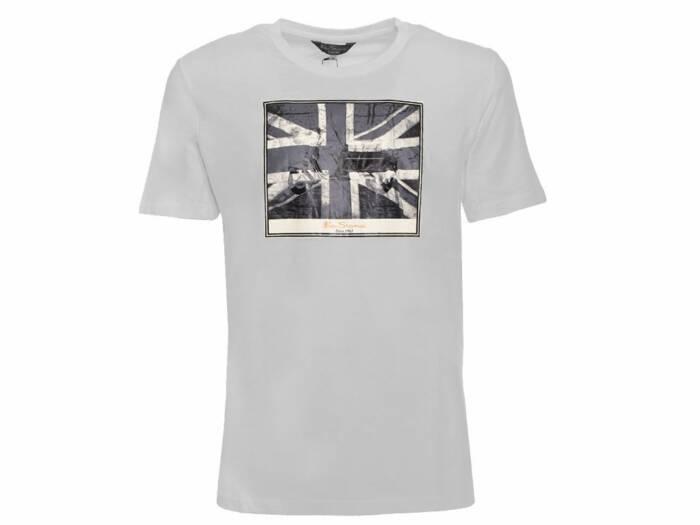 Ben Sherman Ανδρικό T-Shirt σε Γκρι Χρώμα