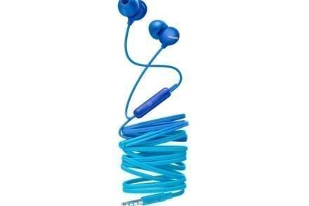 Philips Ακουστικά Handsfree ψείρες In-Ear με μικρόφωνο σε Μπλε χρώμα