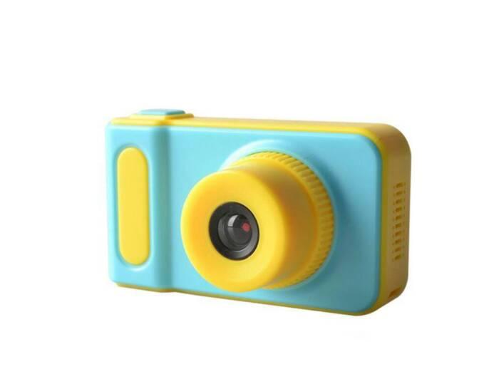 Παιδική Φωτογραφική Μηχανή και Κάμερα με οθόνη LCD σε μπλε χρώμα