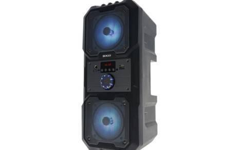 Sogo Φορητό Ασύρματο Επαναφορτιζόμενο Ηχείο Bluetooth Karaoke με Ραδιόφωνο